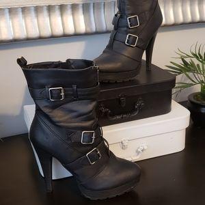 Black Gemma Boots